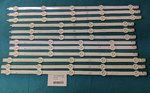 "LG 47"" LC470DUE FULL BACKLIGHT ARRAY 12 STRIPS AGF784008 1174A R1,1175A R2,1176A L1,1177A L2"